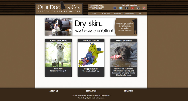 Our Dog and Company site